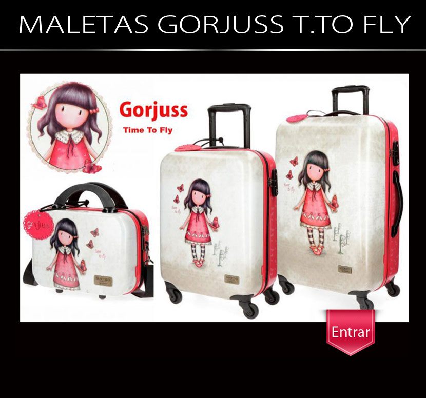 Maletas Gorjuss Time To Fly