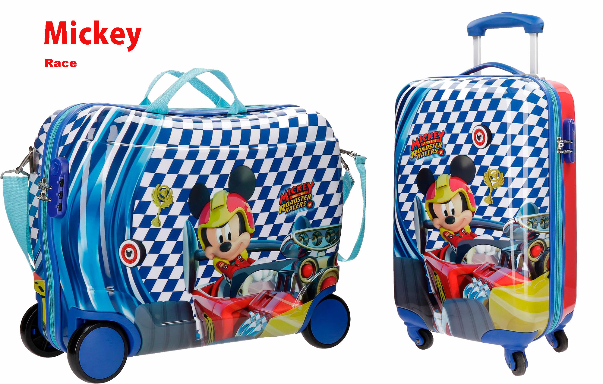Maletas Disney Mickey Race